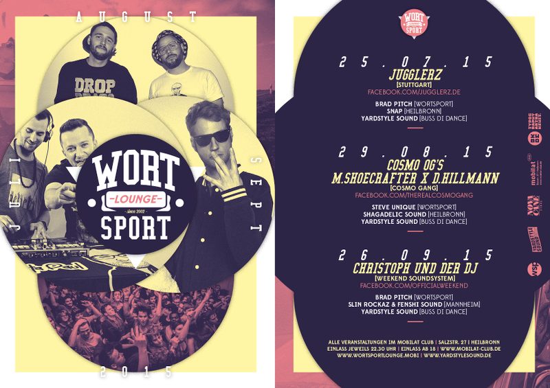 Wortsport Lounge (Jul / Aug / Sep 2015)