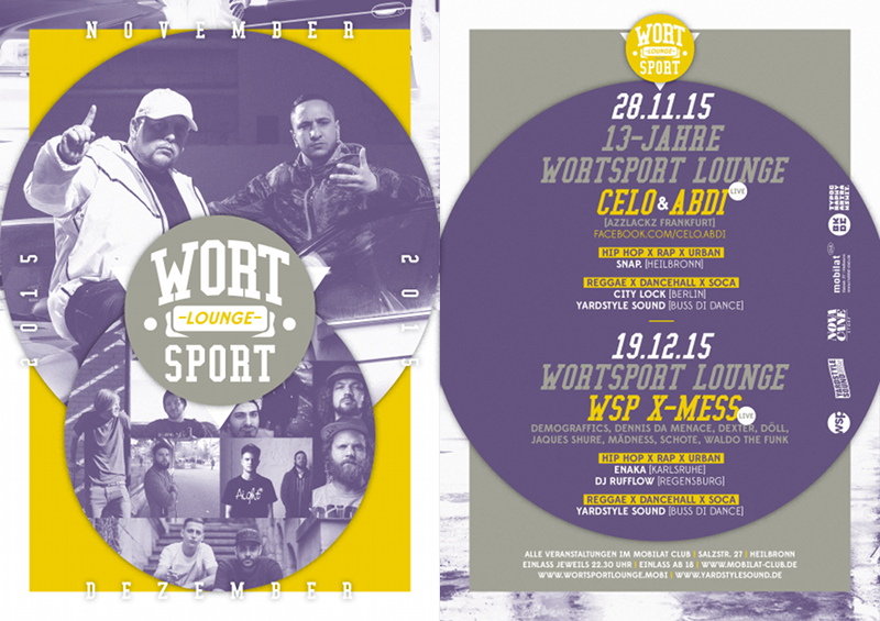 Wortsport Lounge (Nov/Dez 2015)